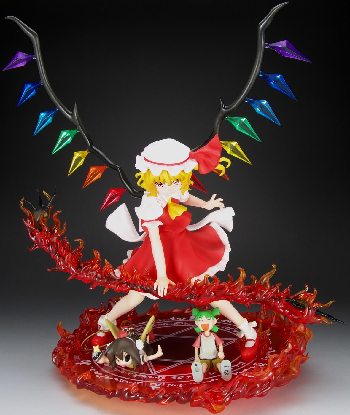 東方Project特別編 悪魔の妹 1/7フランドール・スカーレット-紅剣Ver.- フィギュアレビュー
